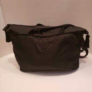 Prada vintage black nylon tote
